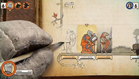 Inkulinati - Le jeu dessiné à la main ouvre les portes de son kickstarter