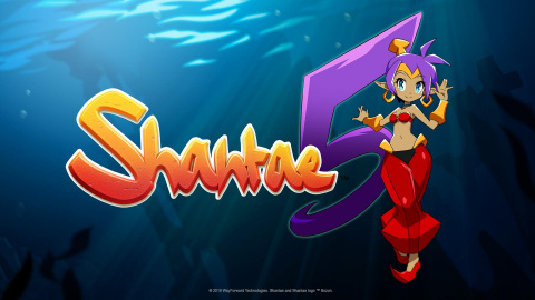 Shantae and the Seven Sirens sur Switch