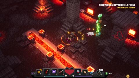 Minecraft Dungeons : Mojang livre un Hack'n slash très carré