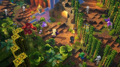 [MàJ] Minecraft Dungeons : Le premier DLC dévoilé et daté