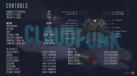 Cloudpunk : la vue à la première personne est disponible