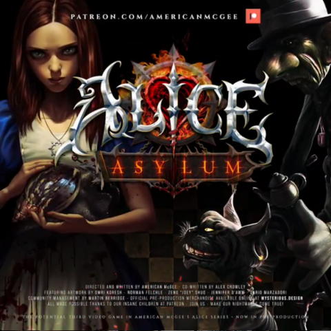 Alice Asylum : American McGee donne des nouvelles du projet