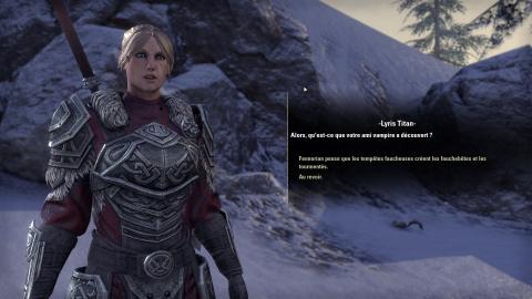 The Elder Scrolls Online : Greymoor : un retour à Bordeciel sombre, mais peu dépaysant