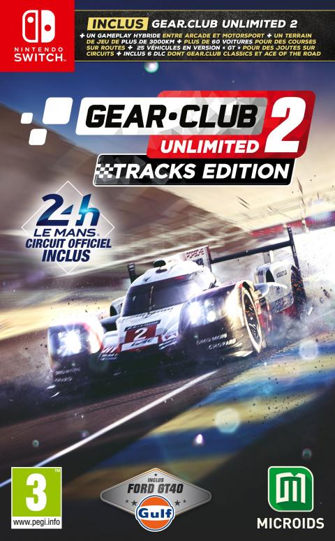 Gear.Club Unlimited 2 – Tracks Edition sur Switch
