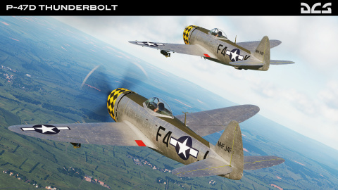 "Le P-47D Thunderbolt et la carte ""The Channel Map"" débarquent dans DCS World"