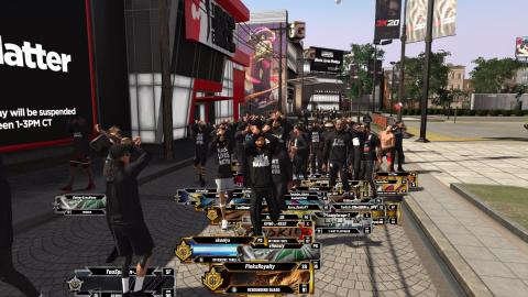 NBA 2K20 : Des t-shirts Black Lives Matter offerts dans le jeu