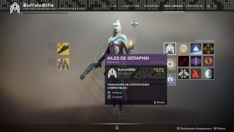 """Destiny 2 : récupérer l'emblème caché """"Ailes de Séraphin"""" - notre guide"""