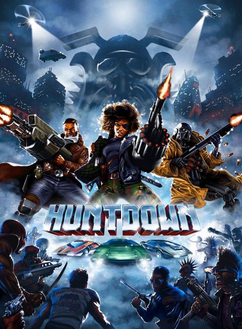 Huntdown sur Switch