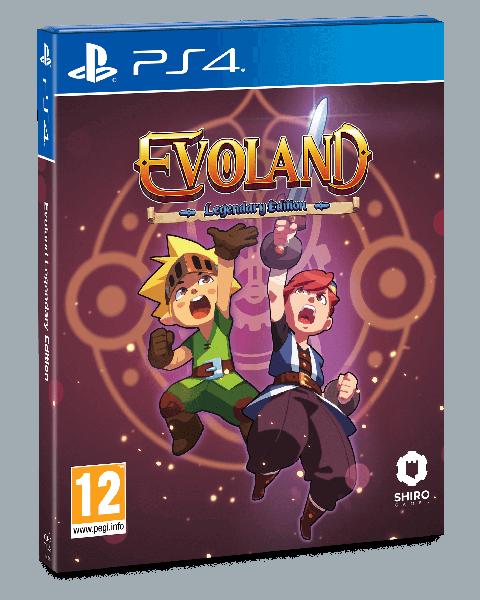 Evoland Legendary Edition : Shiro Game annonce une édition physique sur PS4 et la bande originale sur vinyle