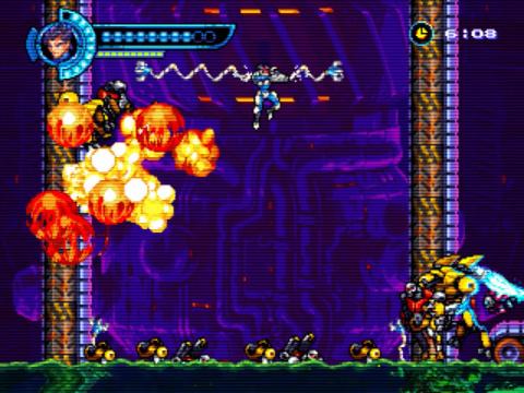 Steel Assault : Un platformer rétro au style 16-bit