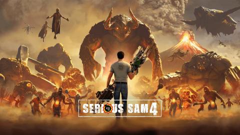 Serious Sam 4 sur PS4