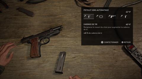 Les armes et équipements : liste et localisation
