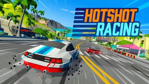 Hotshot Racing sur Switch