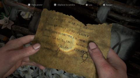 Collectibles : artefacts de Seattle (jour 1, Abby)