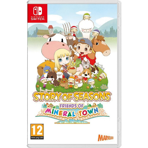 Story of Seasons : Friends of Mineral Town (2020) sur Switch