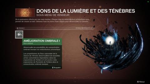 Destiny 2, la Saison de l'Arrivée : missions