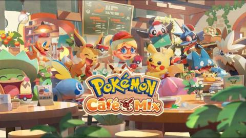 Pokémon Café Mix sur iOS