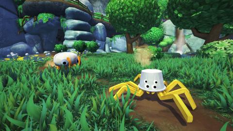 Bugsnax : Young Horses (Octodad) détaille l'univers du jeu d'aventure