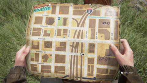 Scénario principal : Seattle, jour 1 (Ellie) - Centre-ville