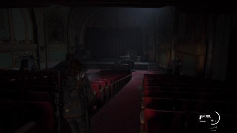 Scénario principal : Seattle, jour 1 (Ellie) - Le théâtre