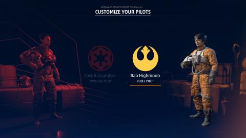 Du gameplay enfin dévoilé pour notre plus grand plaisir — Star Wars Squadrons