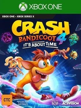 Crash Bandicoot 4 : It's About Time sur ONE