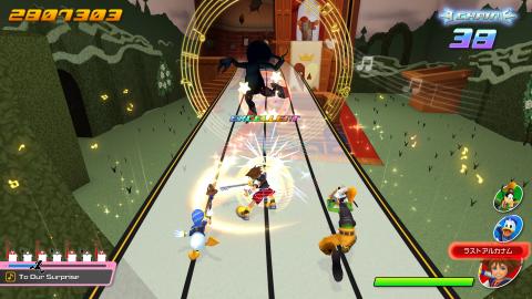 Kingdom Hearts : Melody of Memory partage de nouveaux screenshots