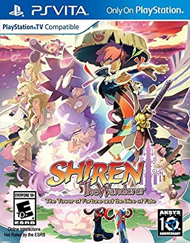 Shiren the Wanderer : The Tower of Fortune and the Dice of Fate sur Vita