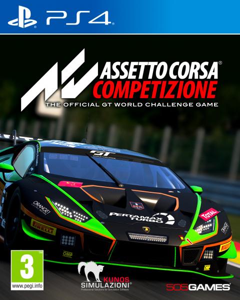 Assetto Corsa Competizione sur PS4