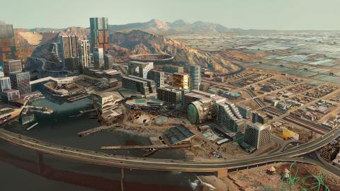 Cyberpunk 2077 partage de nouvelles images de concept art