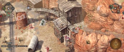 Mine d'or de DeVitt - Un chariot rempli de poudre à canon