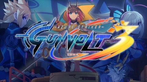 Azure Striker Gunvolt 3 sur Switch