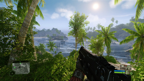"Crysis Remastered : Crytek dévoile une image du jeu en mode ""Can it Run Crysis ?"""