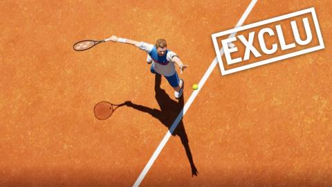 """Tennis World Tour 2 : un """"nouveau départ"""" avec """"une nouvelle équipe"""""""