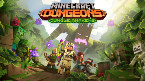 Minecraft Dungeons : Jungle Awakens sur ONE