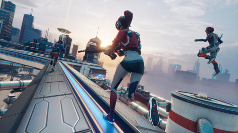 Trailer et gameplay d'Hyper Scape, le Battle Royale d'Ubisoft
