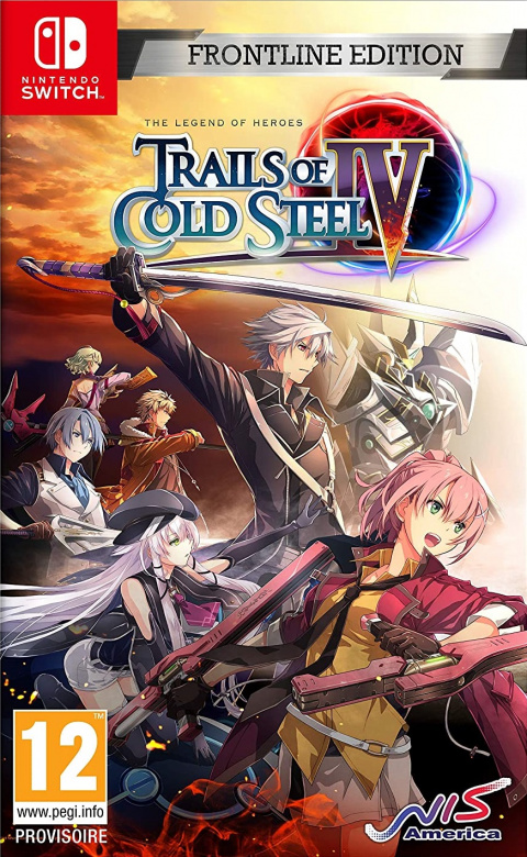 The Legend of Heroes : Trails of Cold Steel IV sur Switch