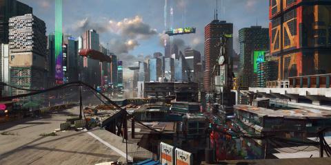 Cyberpunk 2077 : Découverte du quartier de Watson en images