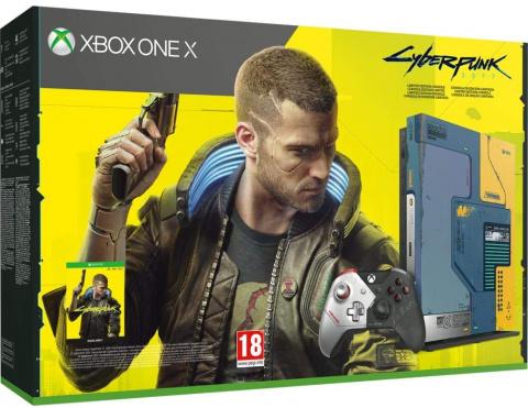 Pack Xbox One X Edition Limitée Cyberpunk 2077 de nouveau disponible et en promo !
