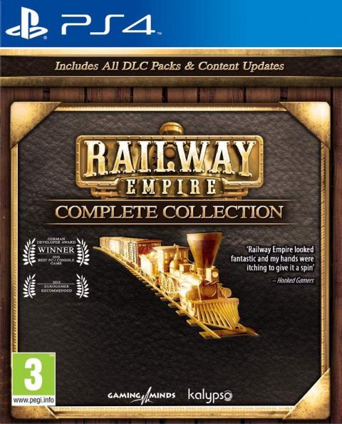 Railway Empire - Complete Collection sur PS4