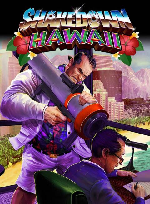 Shakedown Hawaii sur WiiU