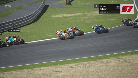 MotoGP 20 accueille la catégorie MotoE et la fonctionnalité Équipe Junior en Carrière