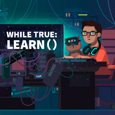while True : learn() sur Switch