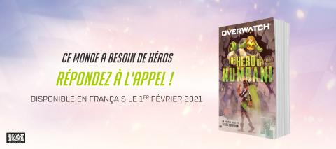 Overwatch : le roman La Championne de Numbani va sortir en français