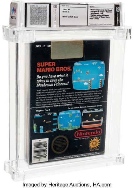 Super Mario Bros. : Un exemplaire vendu 114 000 dollars aux enchères