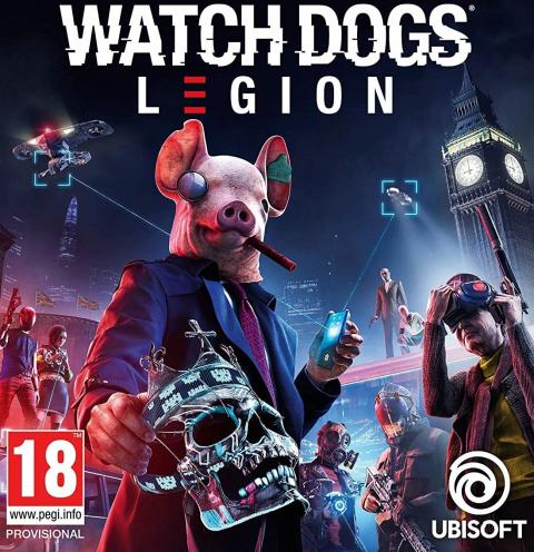 Watch Dogs Legion sur PS5