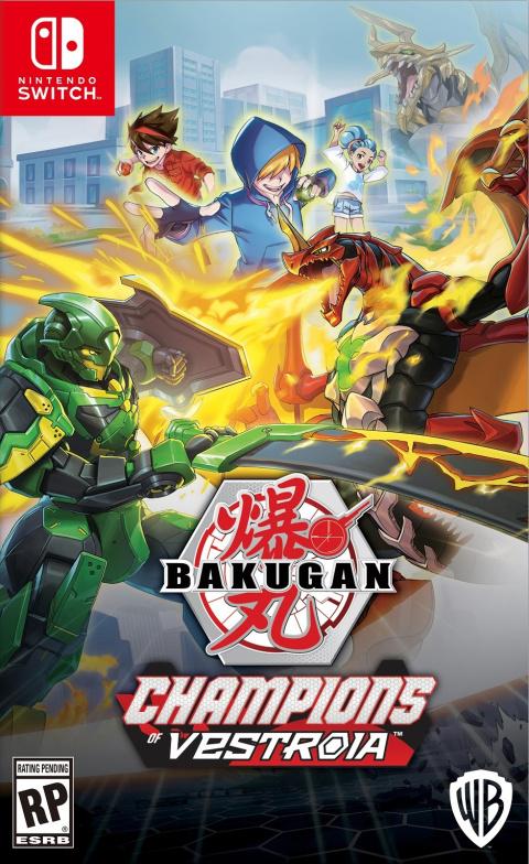 Bakugan : Champions of Vestroia sur Switch
