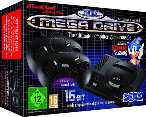 Promo Amazon Sega Mega Drive Mini à 25% de réduction