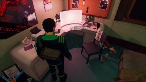 Appartement de Graham (deuxième passage)