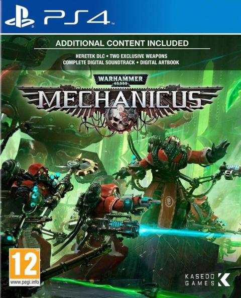 Warhammer 40,000 : Mechanicus sur PS4